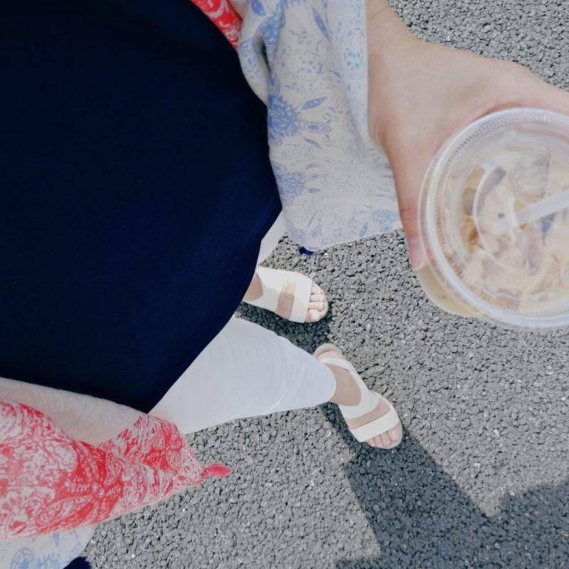【30代ママの必需品】春夏用の薄手で涼しい大判ストール♪